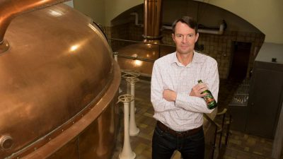 How CEO Andrew Oland stepped back into a family brewing dynasty