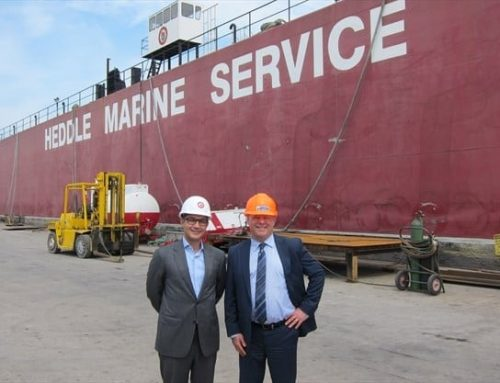 Thordon Bearings, Heddle Marine agreement a 'win-win' situation