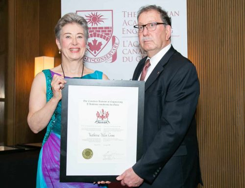 TEC Canada Chair elected into the Canadian Academy of Engineering
