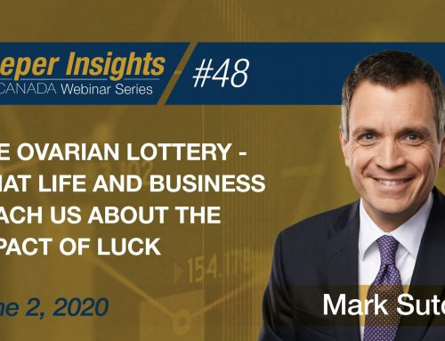 The Ovarian Lottery – What life and business teach us about the impact of luck – Mark Sutcliffe