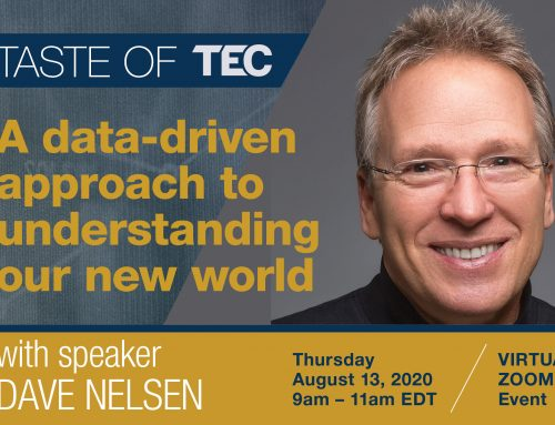 Taste of TEC with Dave Nelsen – August 13