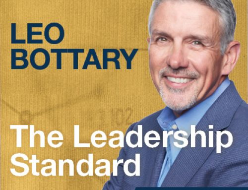 The Leadership Standard – S01E09 –  Leo Bottary – International Speaker, Author, Founder and Managing Partner of Peernovation, LLC