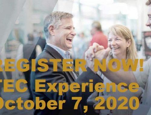 Virtual TEC Experience Led by TEC Chair James Christensen