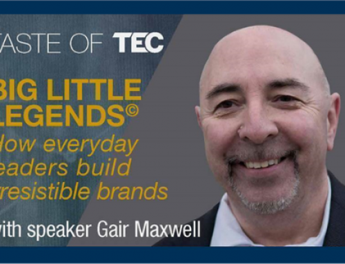 Virtual Taste of TEC – Big Little Legends© with Gair Maxwell