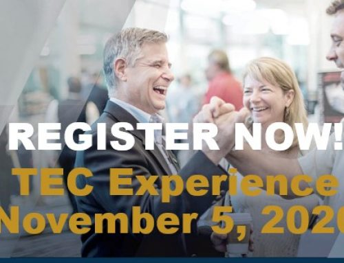 TEC Experience (Virtual) with TEC Chair Pascale Roberge