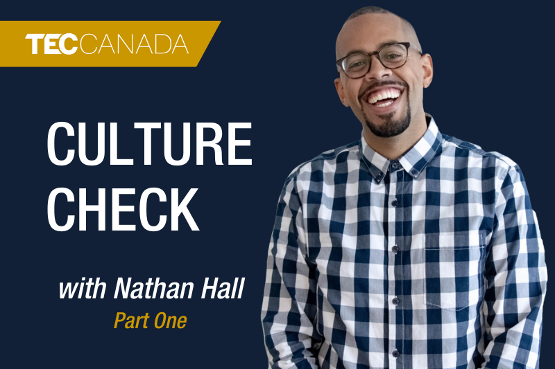 Culture Check with Nathan Hall