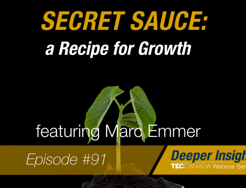 Secret Sauce – A Recipe For Growth