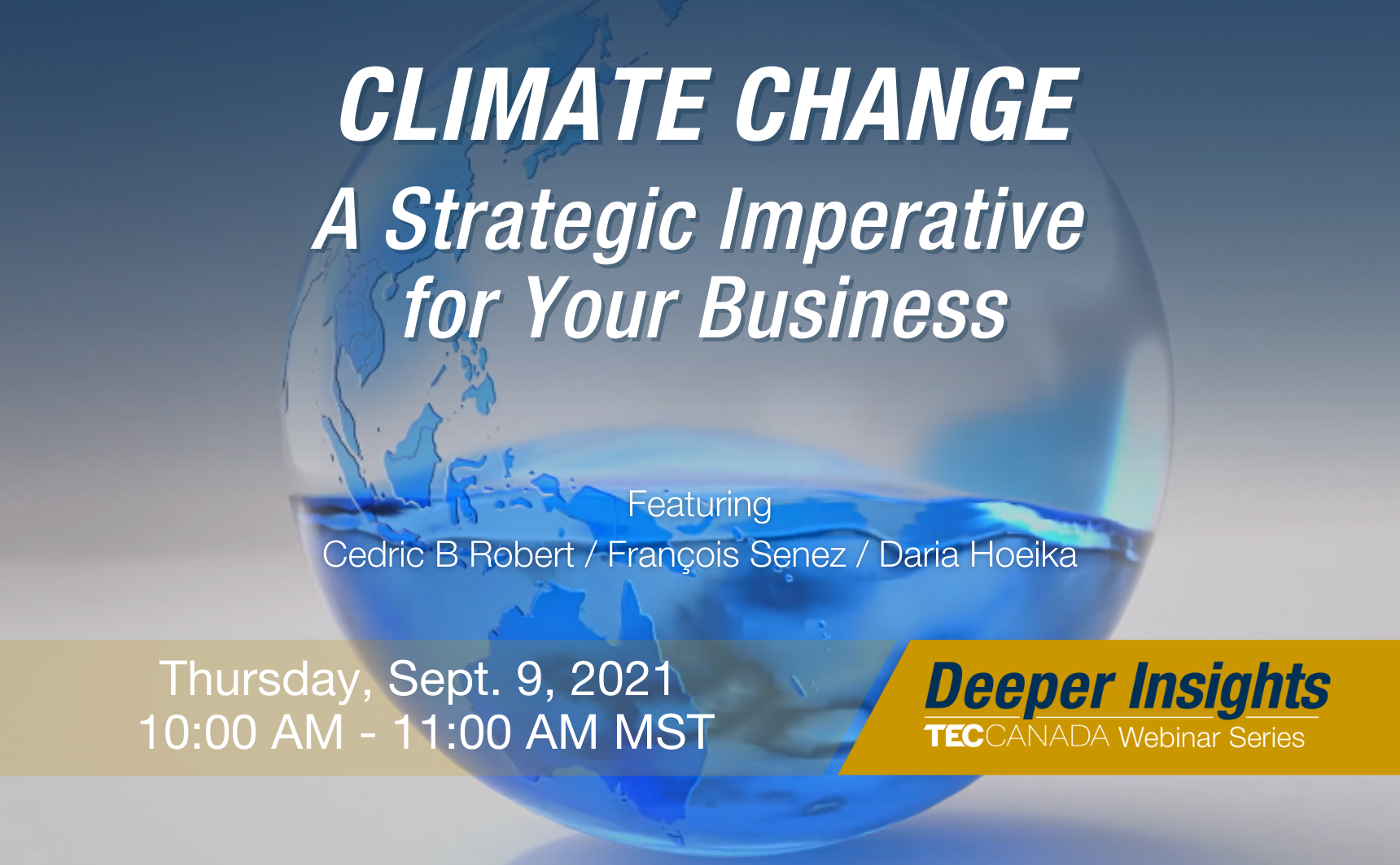 Climate Change: A Strategic Imperative for Your Business
